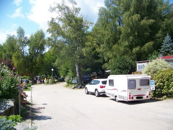 Emplacements camping au Clair Matin